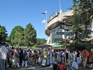 Place des Mousquetaires à Roland Garros