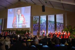 Commencement ceremony du MBA HEC