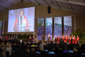 Commencement ceremony du MBA HEC